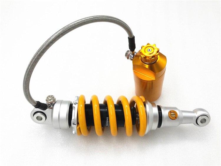 """1 stück 11 """"285mm motorrad hinten stoßdämpfer dämpfung einstellung für Yamaha KTM duke 125 250 390 RC390"""