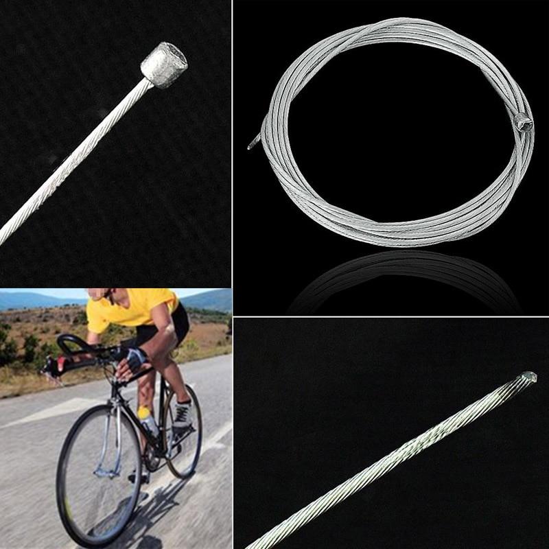 1/2/5/10 pièces vélo fixe vitesse frein câble M vélo ligne de frein vélo décalage manette de vitesse noyau intérieur fil acier vitesse lignes 88 B2Cshop