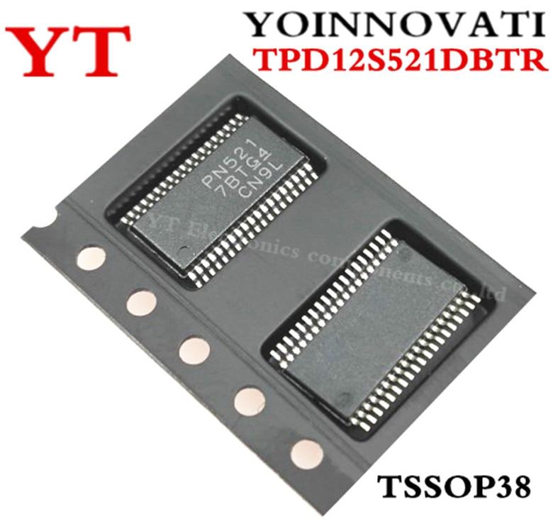 50 قطعة/الوحدة TPD12S521DBTR TPD12S521 PN521 TSSOP38 IC