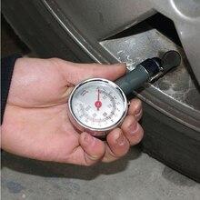 Best Metal Car Tire Pressure Gauge Auto Air Pressure Meter Tester Diagnostic Tool Car Repair Test High Precision Free Shipping