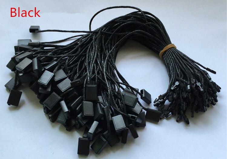 Женские тканевые шнуры, белые/черные/бежевые, 100 шт.