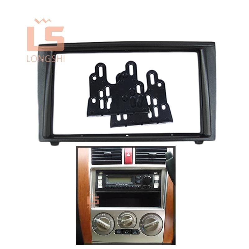 Fascia de Radio de coche para 2007-2009 Mitsubishi Colt Plus, Kit de instalación de Panel de interfaz estéreo automática 2DIN, 2 din