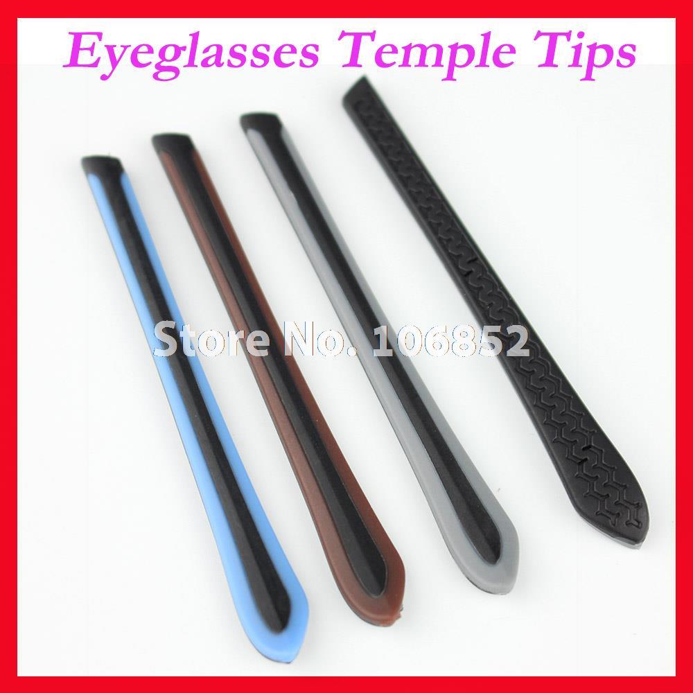 Envío Gratis ET-007 lentes antideslizantes de colores dobles, accesorios para patillas de gafas