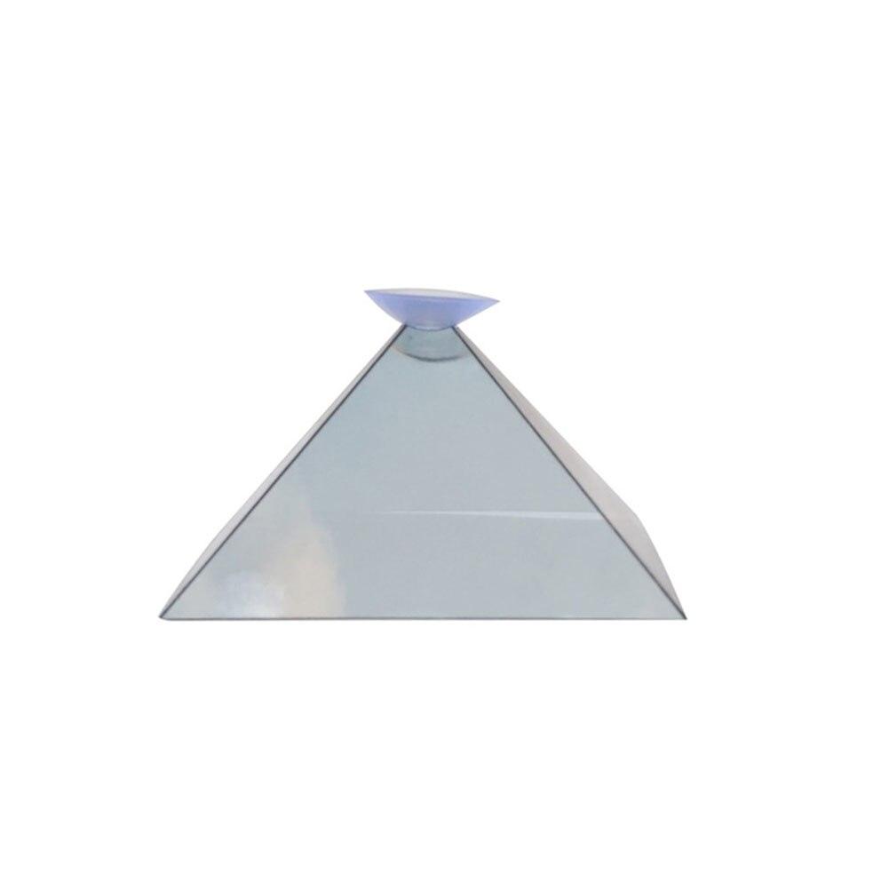 3D Голограмма Пирамида дисплей проектор видео Стенд Универсальный мини Прочный портативный проекторы для смартфонов