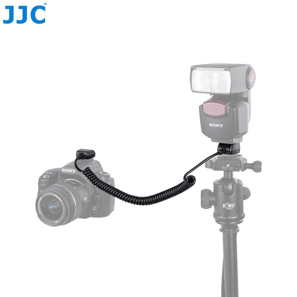 JJC-Cable remoto de sincronización de zapata para cámara SONY ALPHA Series y...
