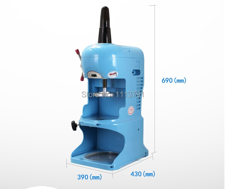 Made In Taiwan YUKUN PD-0B / Commercial use Electric Ice Shaver Snow Cone Maker,Ice Crusher/Snow Ice Shaver Machine enlarge