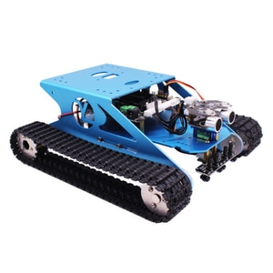 Track Robot Kit Programmable Smart Mobile Platform Chassis Robotics Kit With C Language & Graphical Super Climbing  For Arduino