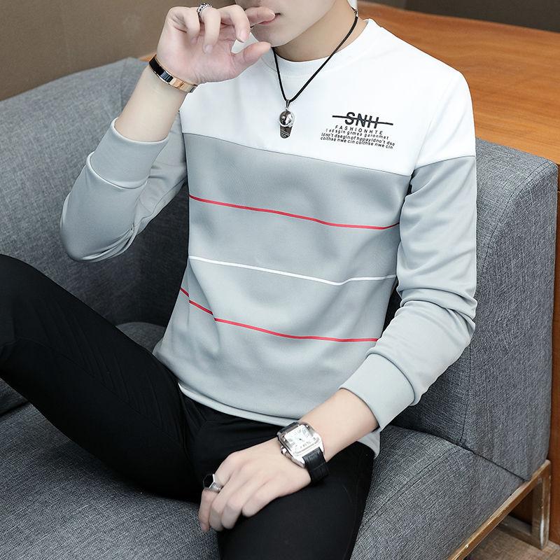 Ropa Coreana de hombre SpringNew con cuello redondo