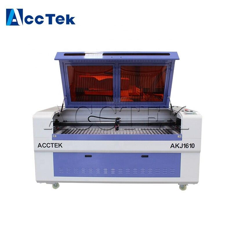 Buen proveedor China precio barato cortador láser, cnc co2 máquina de corte láser con controlador de Ruida