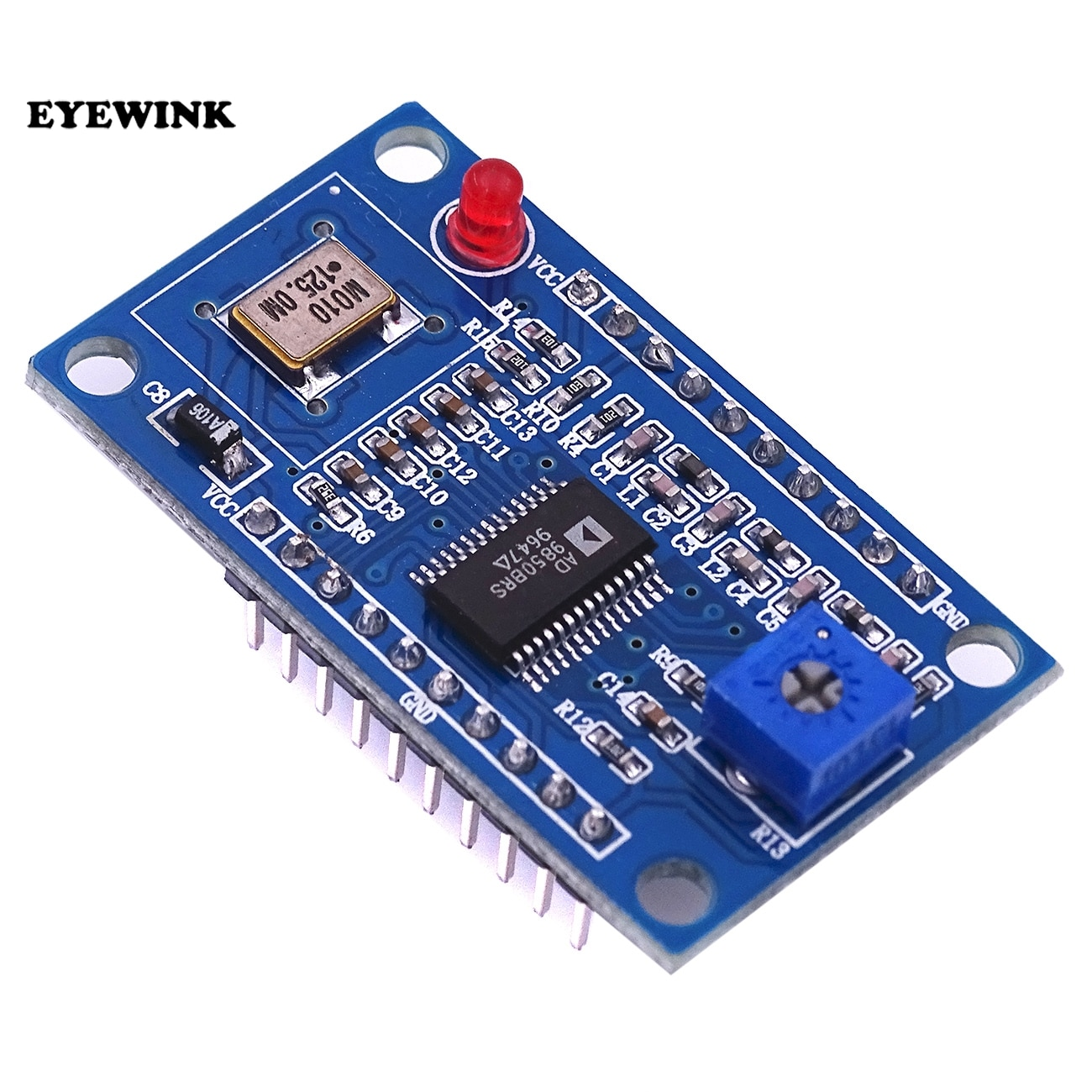 Equipamento de teste do squarewave 0-40 mhz do seno do módulo do gerador do sinal ad9850