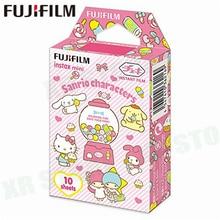 Fujifilm Instax Mini 8 9 Film Sanrio Tekens Fuji Instant Foto Papier 10 Vel 70 7 s 50 s 50i 90 25 Delen SP-1 2 Camera