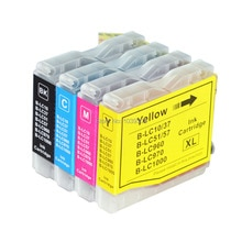 4 чернильные картриджи PK LC960 LC970 LC1000 совместимы для принтеров Brother DCP DCP-130C DCP-135C B DCP-150C DCP-153C