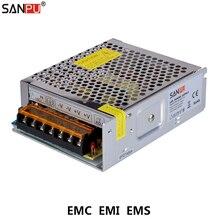 SANPU-EMC EMS SMPS 100W module dalimentation à découpage   12VDC 8A, 110V, 220V, convertisseur AC à 12V cc, 12 volts, transformateur de conducteur,