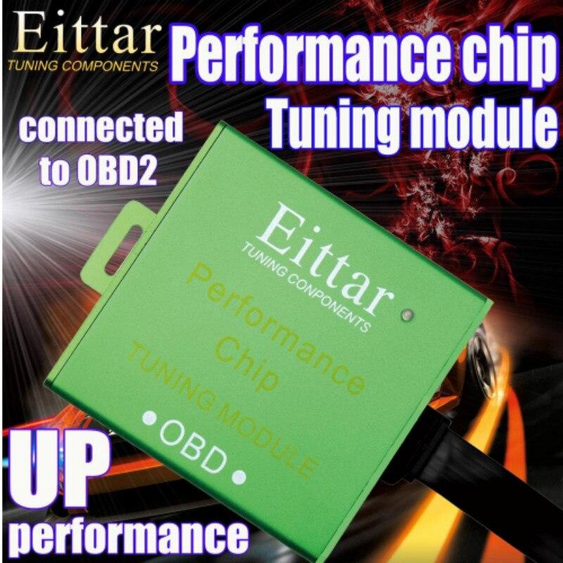 Coche OBD2 chip de rendimiento OBDII OBD 2 módulo de sintonización para automóvil Lmprove la eficiencia de la combustión de ahorrar combustible para Toyota Avensis 2006 +