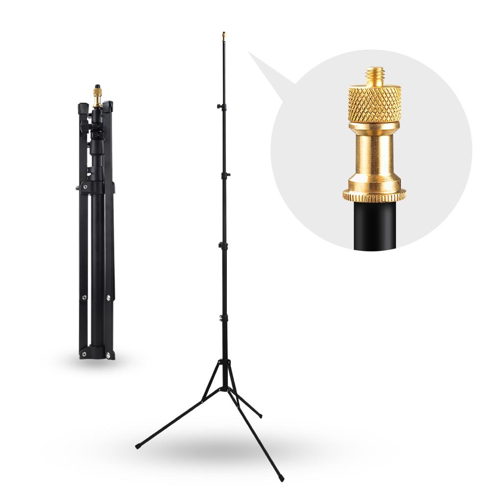 Штатив Aputure Light Stand для Aputure LS-mini20 3 свет для студийной видеосъемки софтбокс вспышка Зонты освещение, подшипник головки вес 3 кг