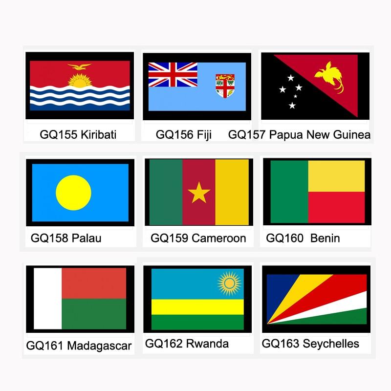 Кирибати, фиджия, Папуа-Новая провинция Палау, Камерун, Бенин, Вьетнам, Сейшельские Острова, национальный флаг, баннер 21*14 см