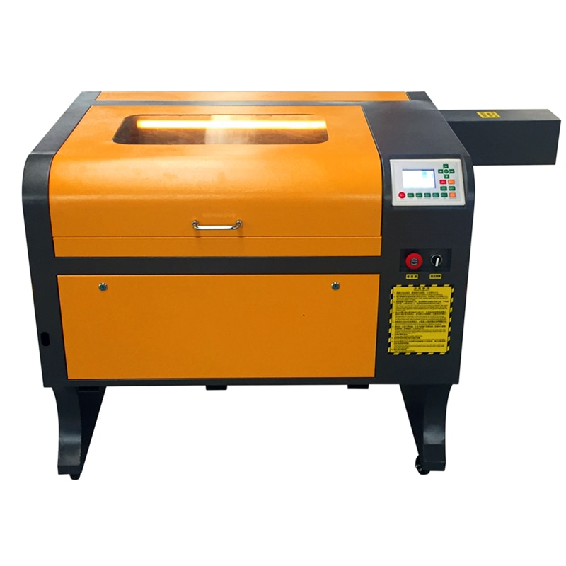 Ruida off-line control 4060 Laser Engraving 600*400mm 50W Co2 Laser Cutting Machine laser engraver free shipping недорого