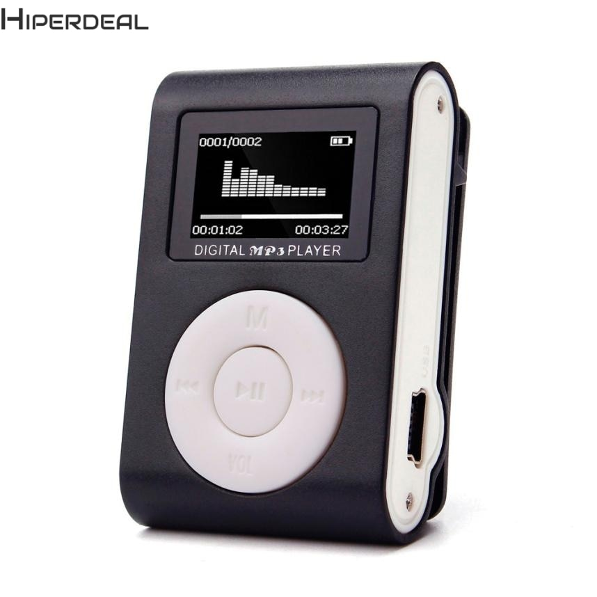 Hiperdeal Musik-player Mini USB Clip Mp3-player Lcd-bildschirm Unterstützung 32 GB 5 Farben Micro SD TF Karte Mp3-player 17Dec13 Drop schiff