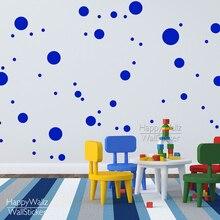 Autocollants muraux à pois 548P   Bricolage, différentes tailles, Stickers muraux amovibles, décoration circulaire