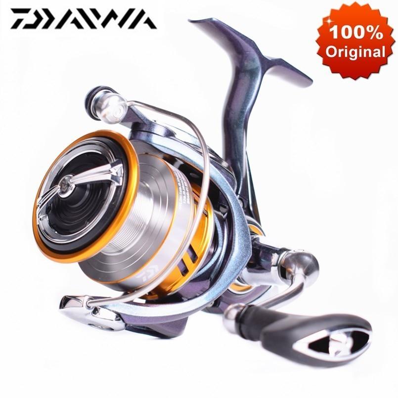Orginal DAIWA REGAL LT Fishing Reel Spinning 1000D 2000D 2500DXH 3000DCXH Max Drag 10KG Saltwater Carp Fishing Spinning Reel