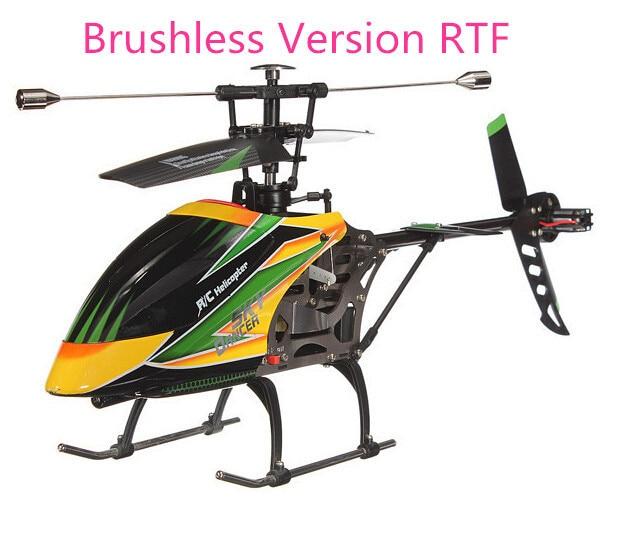 WLtoys V912 Brushless Version 2.4G Remote Control Toys 4CH RC Helicopter With Gyro RTF VS Wltoys V93