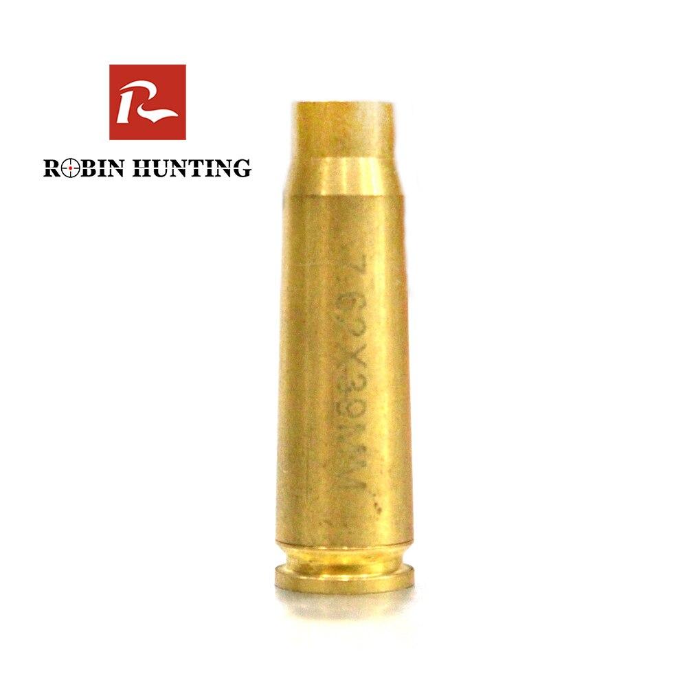 Robin caza 7.62X39 punto rojo láser para aire arma escopeta de caza táctico accesorios cartucho calibre Vista de láser de Boresighter