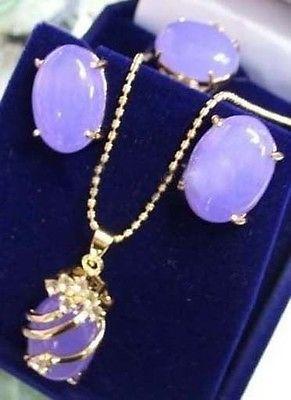 Natural gem stone Alexandrite &Crystal pendant earring ring sets Bridal earrings for women sterling-Ms.-jewelry earrings