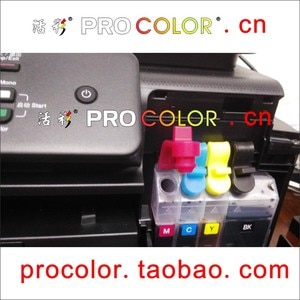 Newest BT6001 BT5001 BT6001BK BT5001C BT5001M BT5001Y dye ink CISS Refill Kit for brother DCP-T300 DCP-T500W DCP-T700W MFC-T800W