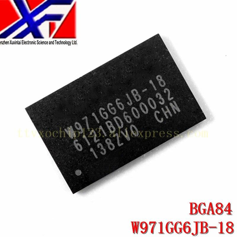 10 pçs/lote W971GG6JB-18 W971GG6JB W971GG6 Memória SDRAM-DDR2 IC 1Gb (64M x 16)