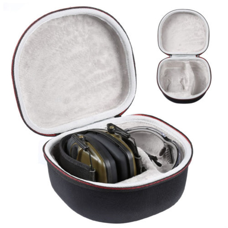 Жесткий чехол LTGEM для путешествий, сумка для хранения для Ховарда Leight от Honeywell Impact Sport Earmuff и Genesis Sharp-Shooter Safety Eye