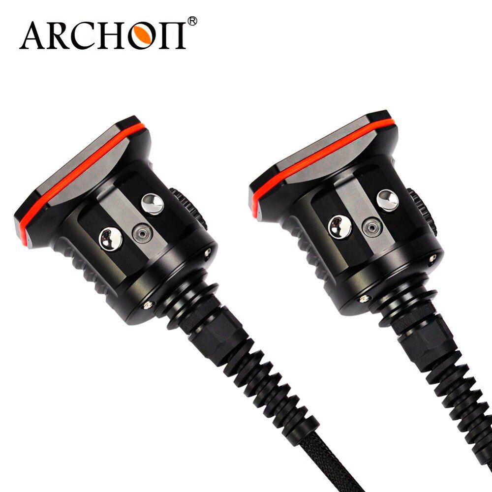 ARCHON WH156W dual heads dive flashlight max 30000 lumens Led hand lamp enlarge