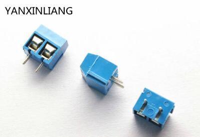 20 unids/lote 2 Pin tornillo conector de bloque de terminales mm, paso de 5mm 301-2P 300 V/16A