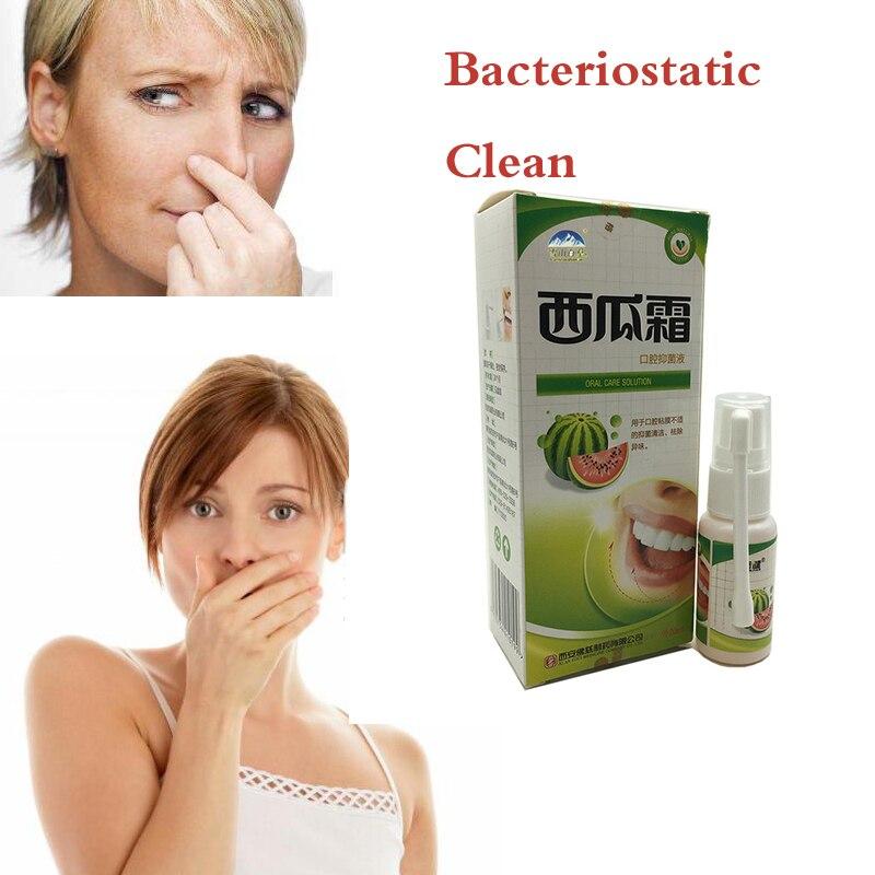Китайский арбузный крем, оральный спрей, холодный спрей для очищения дыхания, лечения боли в горле, зубной боли, язва полости рта, бактериостатическая Чистка