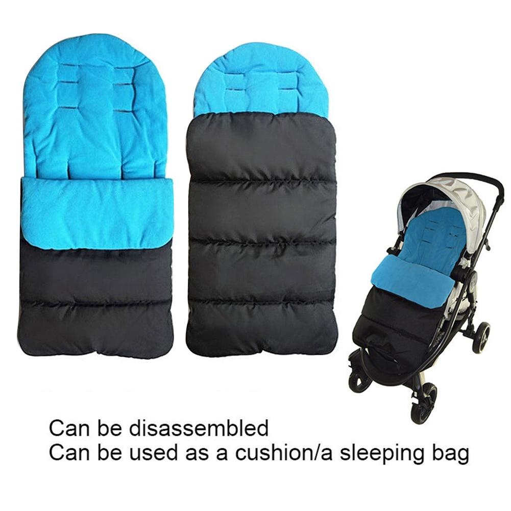 Bebé niño nuevo Universal reposapiés acogedor delantal delineador cochecito de algodón almohadilla Universal accesorios de la cubierta del pie suavemente