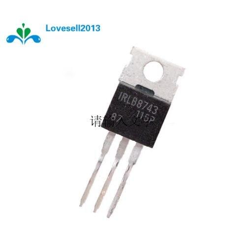 5 piezas IRLB8743PBF IRLB8743-220 MOS Chip IC-220