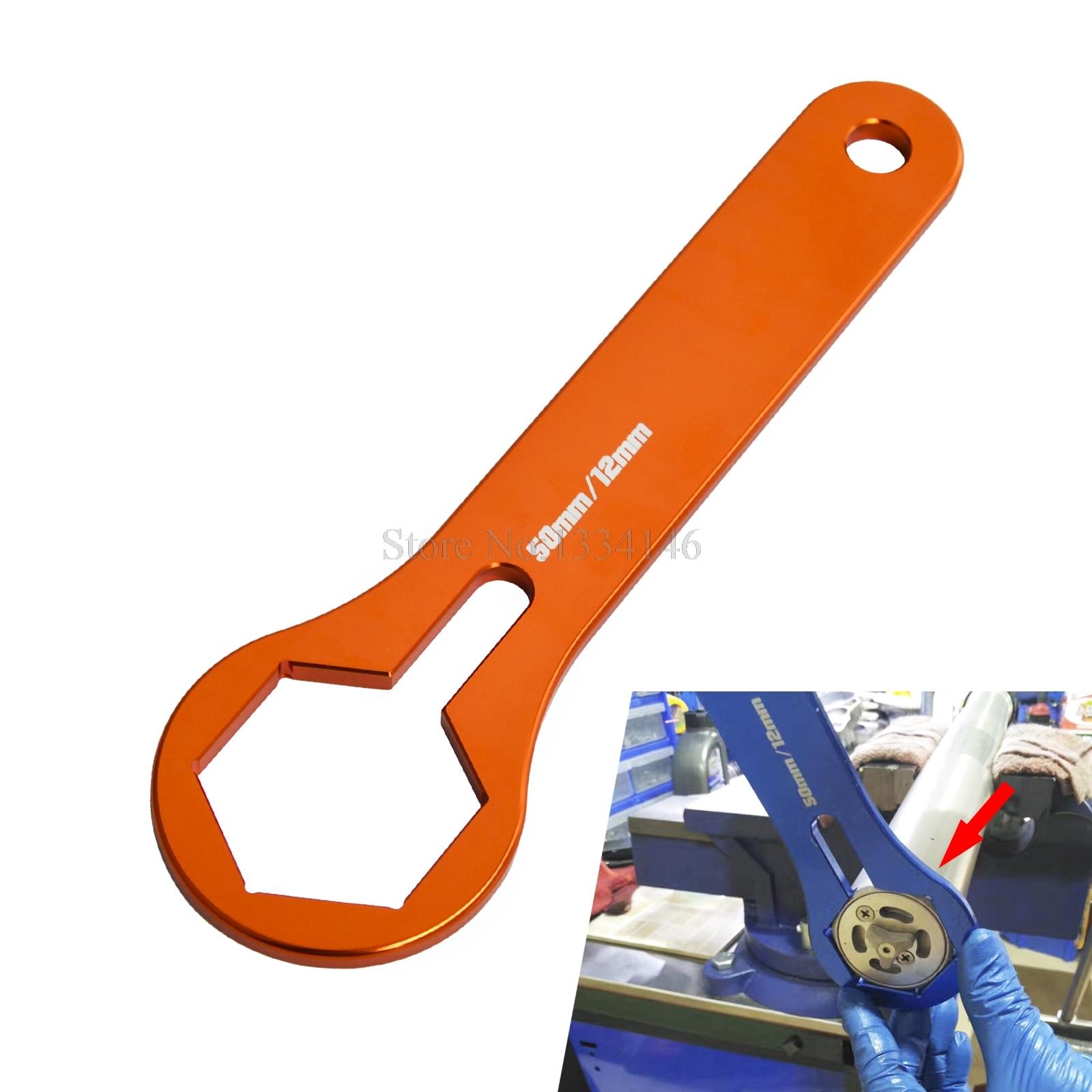 Гаечный ключ 50 мм для KTM 125 144 150 200 250 300 350 450 505 550 SXF XC EXCF Factory EXC, шесть дней SMR Freeride
