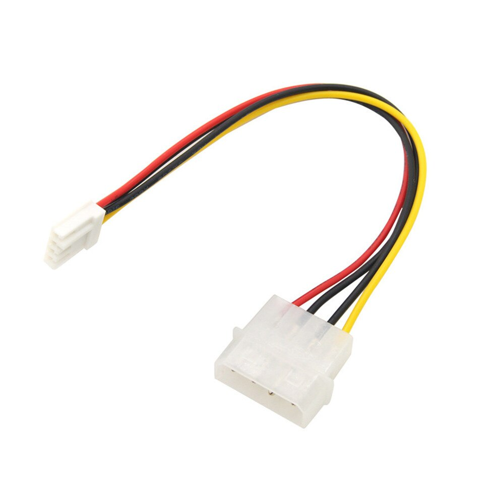 "Ecosin2 Computer Cables & Connectors 4 Pin Molex To 3.5"" Floppy Drive FDD Internal Power Cable Adaptor 20cm Nov6"