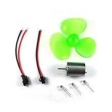 Mini 90mm ostrze DIY turbiny wiatrowe Generator prądu stałego Model eksperyment naukowy narzędzia fizyczne kreatywna zabawka