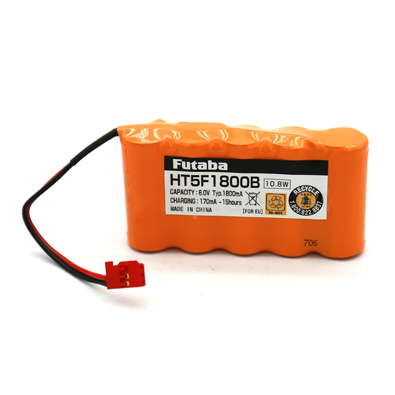 Original FUTABA Transmitter Battery for 16SZ T14SG Remote Control HT5F1800B