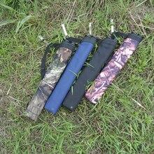 Стрельба из лука колчан 2 трубки сумка для соединения лук Рекурсивный держатель стрелы стрельба охотничьи мешочки