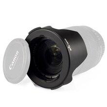 Ableto için kamera lens hood sony canon nikon TAMRON SIGMA 24-70mm 24-105mm 70-200mm 17-50mm 28-300mm lens