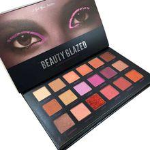 18 Color Shimmer Matte Diamond Glitter Beauty Make Up Eyeshadow Palette Makeup Eye shadow Palette Cosmetics