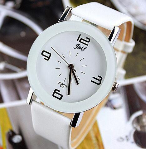 Leather Fashion Brand Bracelet Watches Women Men Ladies Quartz Watch Wrist Watch Wristwatch clock re