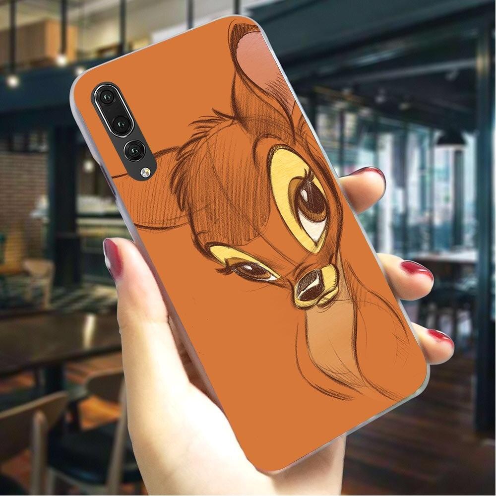 Чехол для телефона Huawei Mate 10 Lite Sika Deer Bambi чехол P9 Lite Mini P10 20 30 Lite Pro P Smart Mate 20 Lite Pro