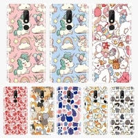 cute unicorn phone case for nokia 7 1 6 1 5 1 3 1 2 1 plus silicone soft tpu back cover for nokia 7 1 6 1 5 1 3 1 2 1 cases