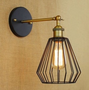 IWHD Retro Edison Loft Style Iron Vintage Wall Light Fixtures For Home Industrial Wall Lamp Sconce Indoor Lighting Lampara