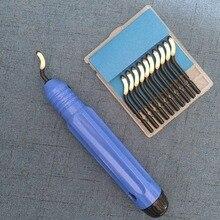 JFBL-outil débavurage de réparation, pièce de réparation spéciale, outil débavurage BS1010 S10 + 1 pièces NB1100 lames doutils débavurage