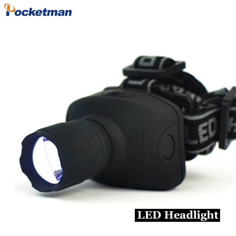 Linterna Frontal de faro LED de 900 lúmenes linterna Frontal linterna de cabeza con zoom luz para bicicleta para Camping caza pesca z50