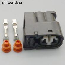 Shhworldsea boîtier de connecteur pour Toyota   Bobine dallumage de voiture 2 broches, prise électrique pour Toyota 1JZ 2JZ 1JZ GTE 2JZ GTE GTE GTE GTE GTE Lexus SC300 Mazda RX7 S678