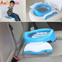 Portable Baby Potchildren's Toilet Travel/car Baby Toilet Folding Children's Toilet Training Seat Pot For Kids  Baby Toilet